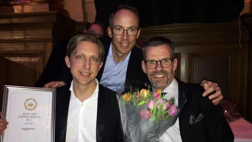 Elgiganten utsett till Sveriges bästa företag