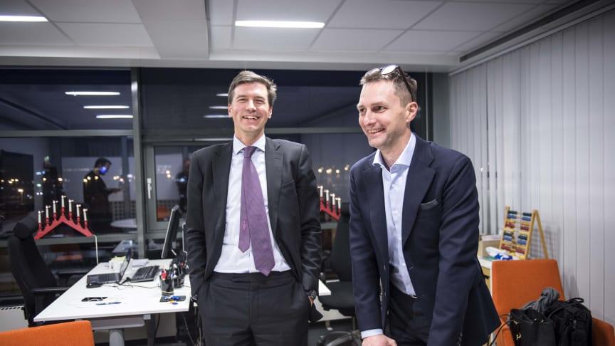 Fabian Hielte och Martin Alsander