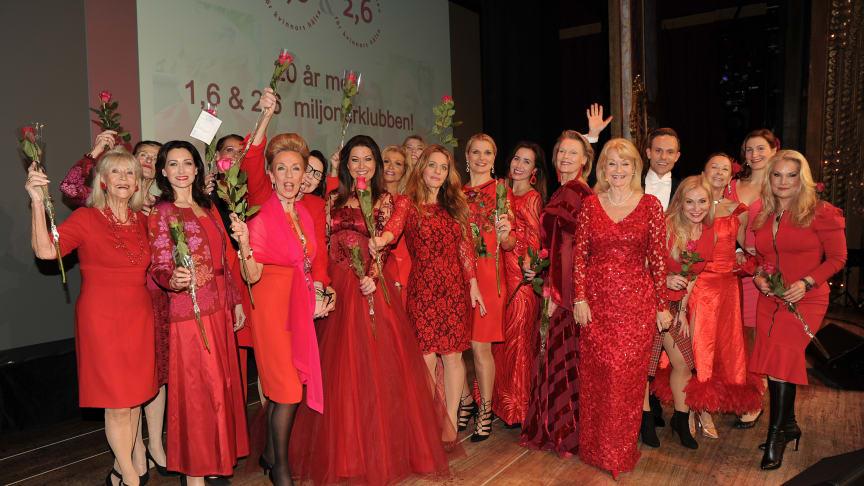 Den 19 mars slår Örebroare ett slag för kvinnohjärtat genom Woman in Red.