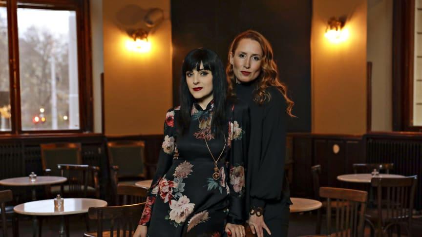 Sandra Rosa Bergman och Jeanette Simon står bakom Dramatenrestaurangernas nya satsning (fotograf: Eva Edsjö/Sylvie)
