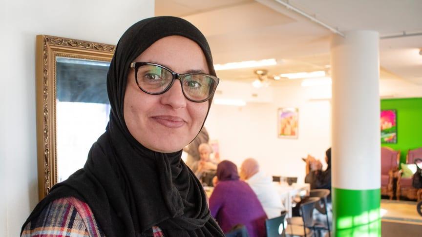 Ines Merai, verksamhetsutvecklare/studiekonsulent hos Ibn Rushd.