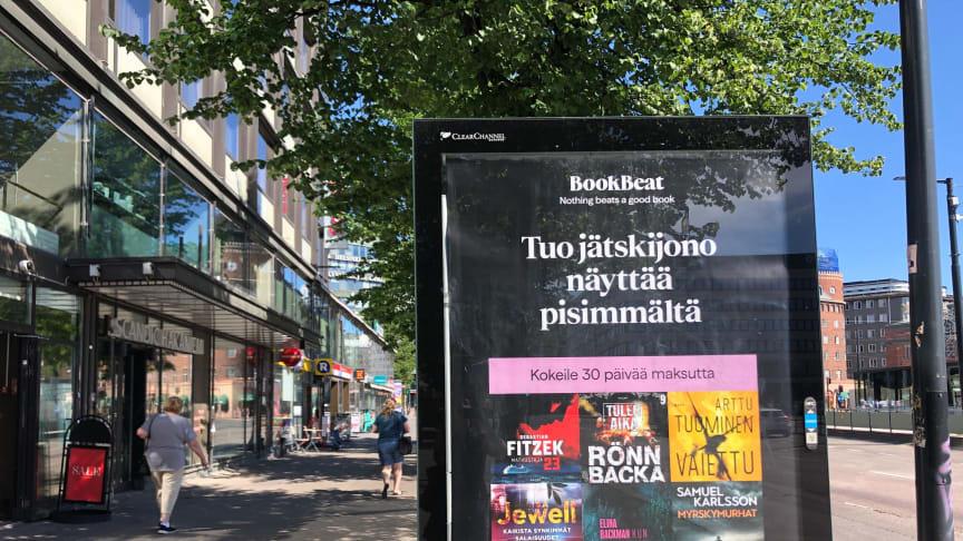 BookBeat Werbung in Helsinki