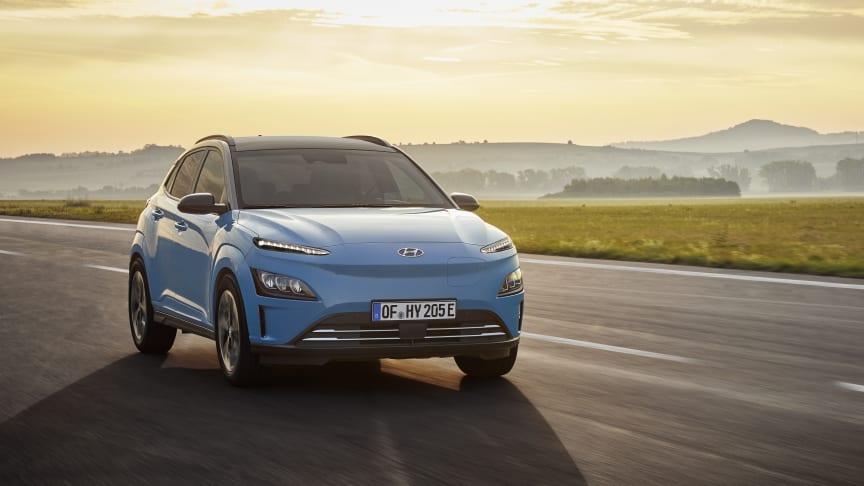 Nye Hyundai Kona Electric. Foto: Hyundai