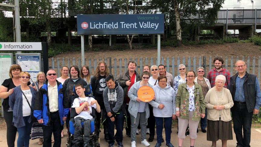 Friends 2 Friends at Lichfield Trent Valley station