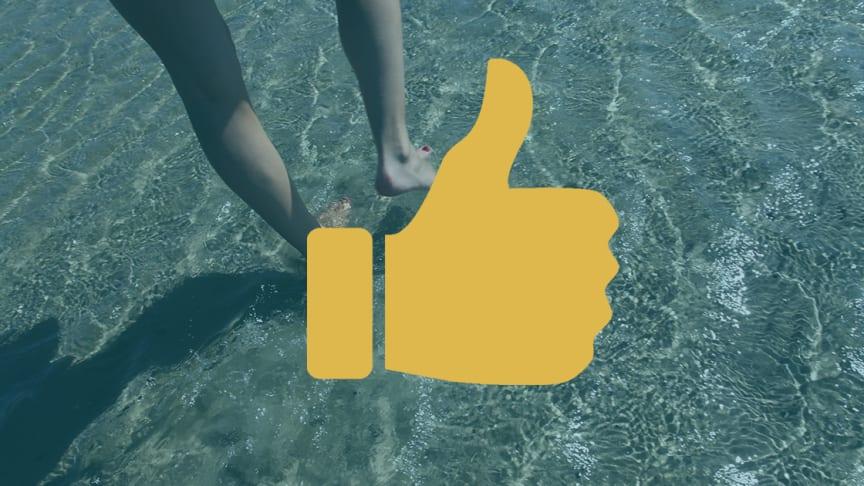 Vattenprover från 26 juli visar nu att kvalitén på badvattnet är bra vid både Barsebäckstrand och Salviken.