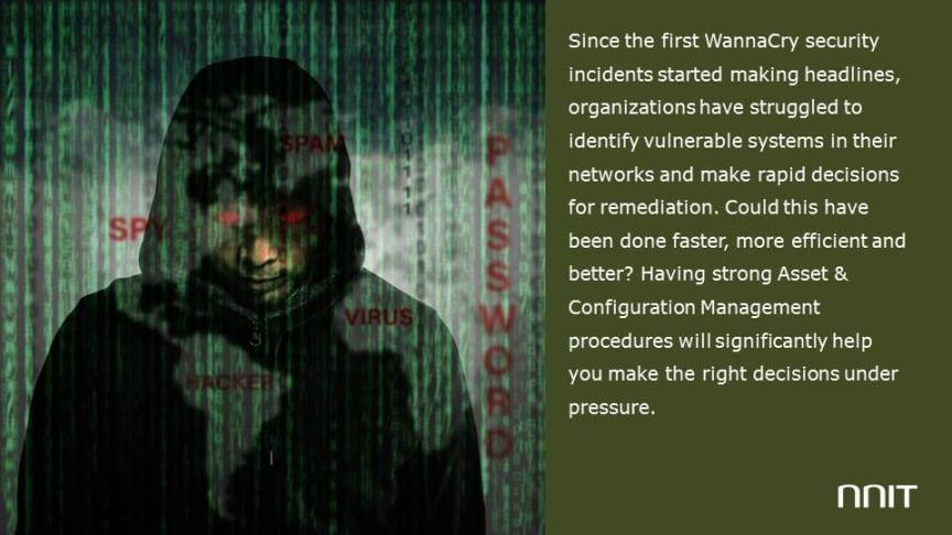Till the next WannaCry campaign