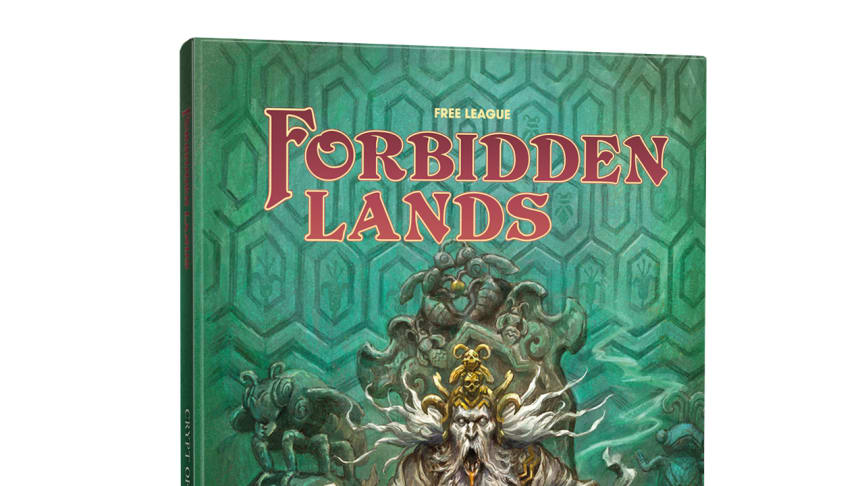 """""""Crypt of the Mellified Mage"""" Module For Award-Winning Forbidden Lands RPG Launched Today"""