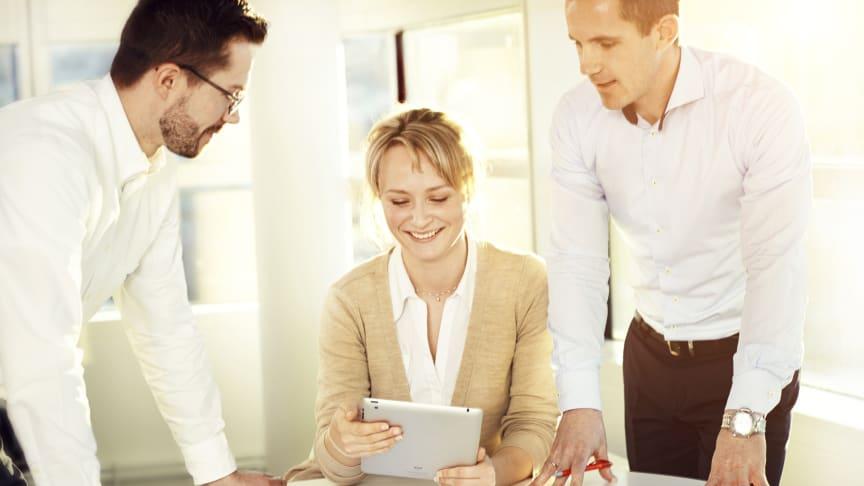 Stark framtidstro bland småföretagare