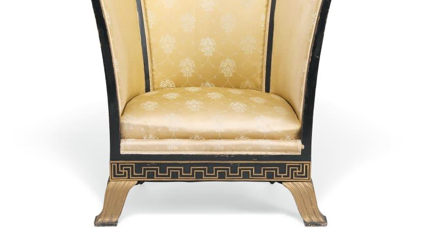 Henning Hansen: Art Deco Chair