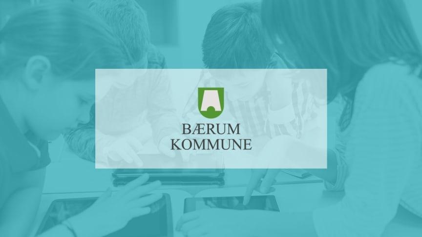 Norges femte største kommune, Bærum, velger Skolon for å forenkle den digitale læringen for sine 20 000 lærere og elever
