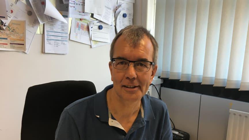Henning Wienefeld verantwortet die stationären und betreuten Wohneinrichtungen für knapp 200 unbegleitete minderjährige Ausländer bei Hephata.