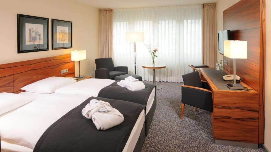 Bestens aufgestellt: Die Maritim Hotelgesellschaft verzeichnet eine außerordentlich gute Geschäftsentwicklung und punktet bei den Gästen mit höchster Servicequalität  und umfassend renovierten Hotels wie hier in München.