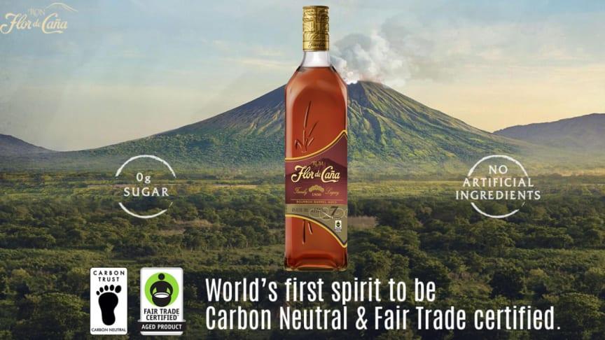 Fair trade-märkta Flor de Caña 7 Rom lanseras 1 juni på Systembolaget