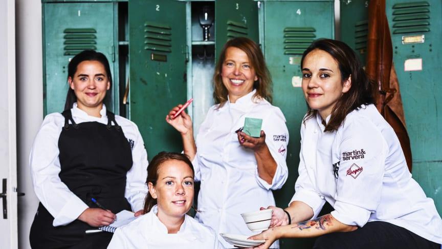 Lisa Lönner med det kvinnliga kocknätverket Take Over