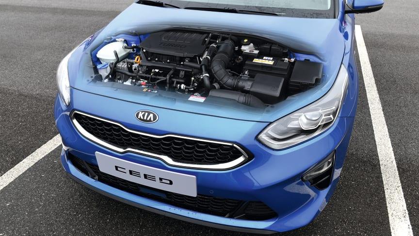 """KIAs helt nye """"Smartstream"""" 1,5-liters T-GDi motor er konstrueret til at booste ydelsen og præstationerne, mens emissionerne samtidig reduceres"""