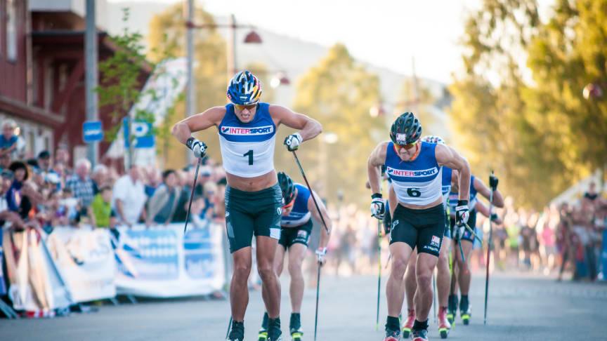 Petter Northug vant rulleskisprint i Trysil