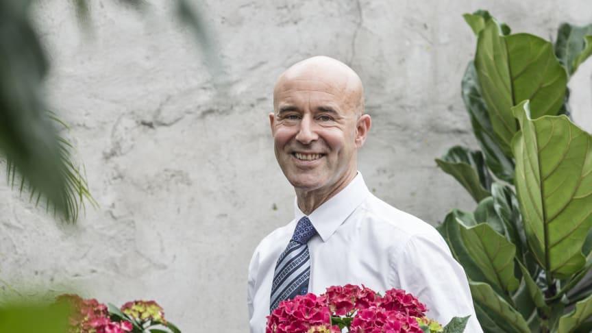 Mark Levengood tycker om hortensia.