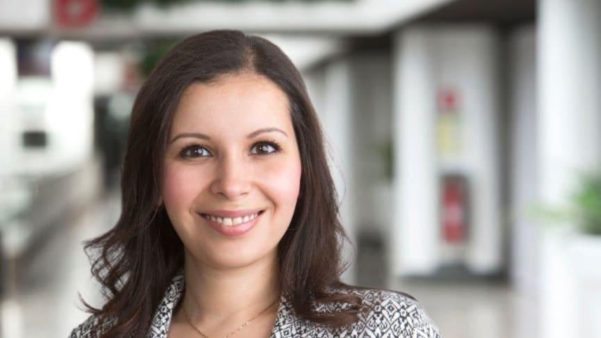 Samira Mchaiter, ny Förvaltningschef i Studenbostäder i Sverige (SBS).