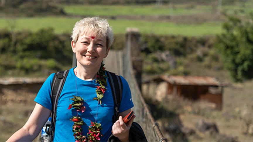 Susanne Pedersen arbejder til dagligt som assistent for ledelsen i Geberit