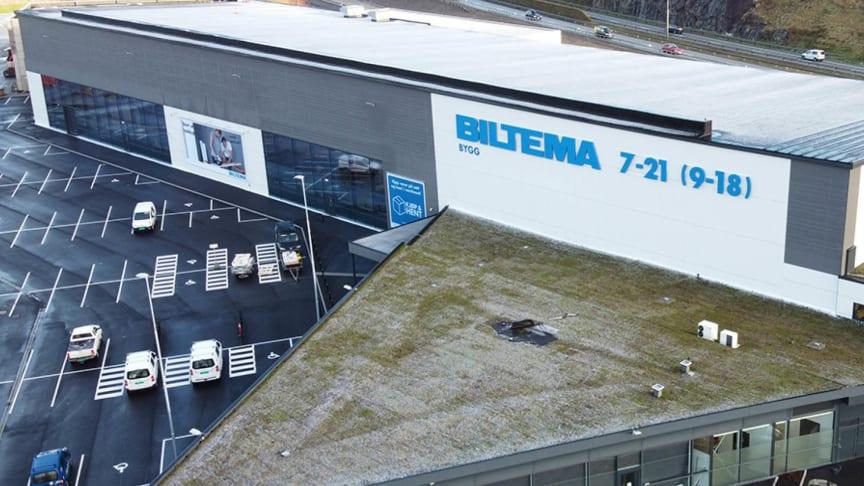 Klart for åpning av Biltemas første byggevarehus på Forus i Stavanger