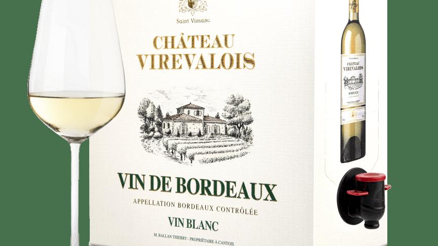 Château Virevalois Bordeaux Blanc 2020