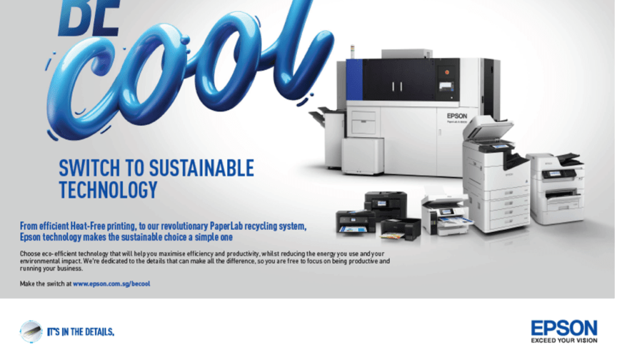 """Epson announces new printer sustainability campaign – """"Be Cool"""""""