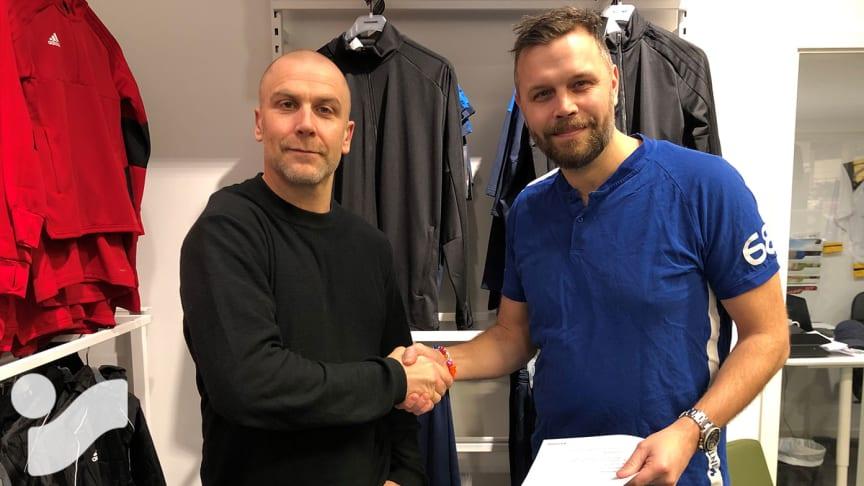 """Intersport signar Hagaström SK: """"Äntligen!"""""""
