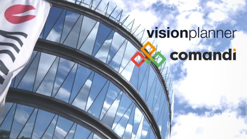 Visma bedrijven Comandi en Visionplanner bundelen krachten