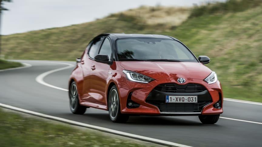 Yaris er Toyotas mest populære modell i Europa