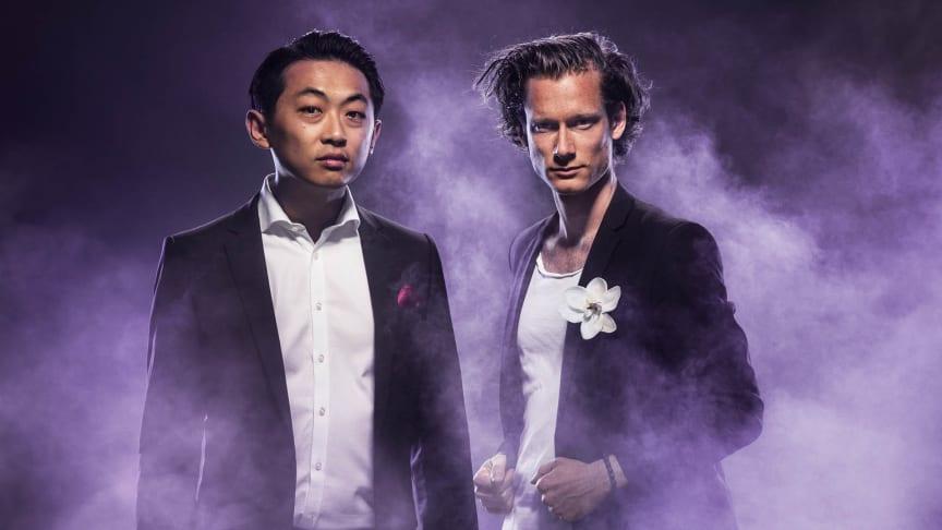 David Huang och Magnus Holmander