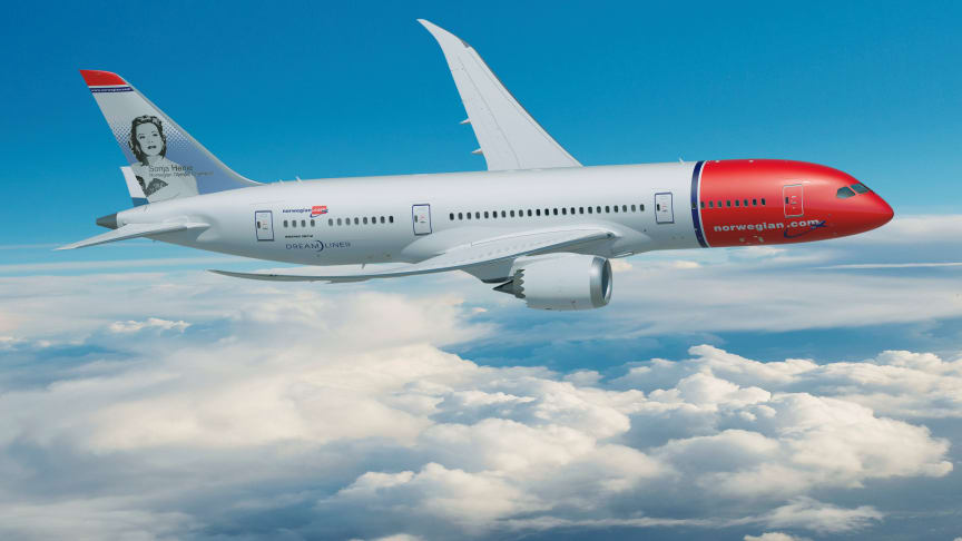 Norwegian more than quadruples its current long-haul fleet with new order of 19 Boeing 787-9 Dreamliners