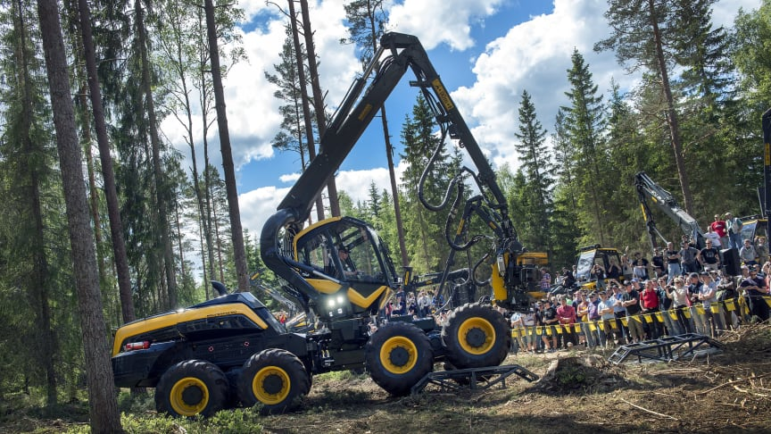 Welcome to the whole worlds forestry fair 7-10 June