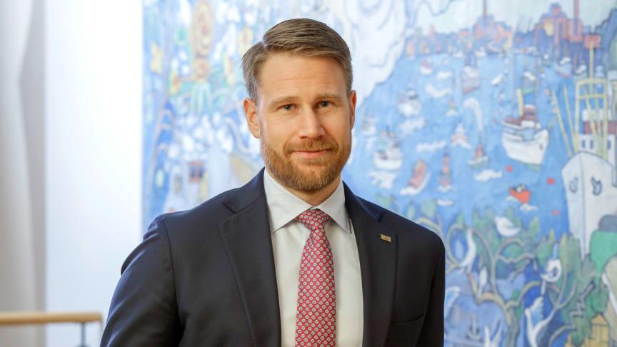 """""""Jag är som mest nöjd när vi gemensamt hanterat en utmaning"""" – Fredagsporträttet med CFO Björn Strid"""