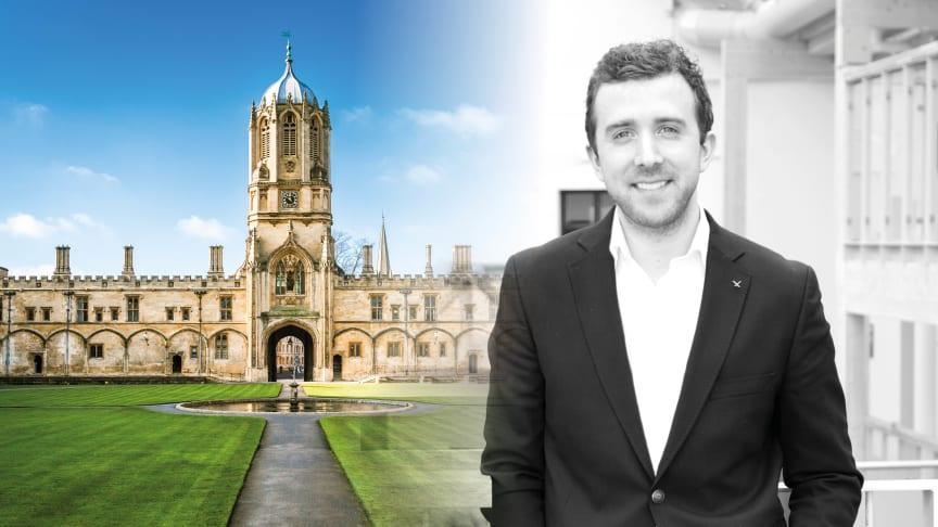 Fredrik Hammargården presenterar idag Individs AI-teknik på Oxford University