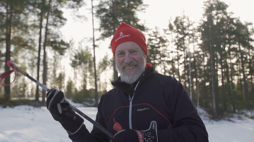 Åke åker för 40:e året när Öppet Spår 40-årsjubilerar
