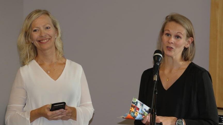 May Hege Kaspersen og Linn Wold Lyngseth takker alle som har bidratt til å realisere Fri.