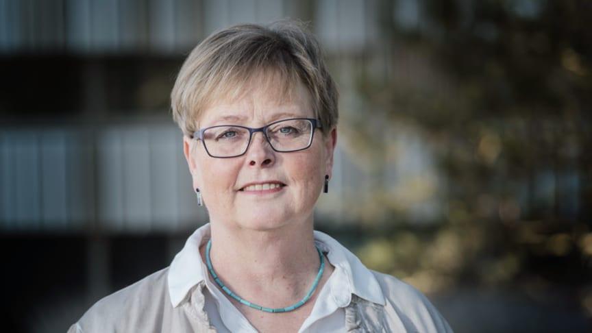 Hanne Berthelsen har både tagit fram och utvärderat ett nytt arbetsmiljöverktyg. Foto: Håkan Röjder