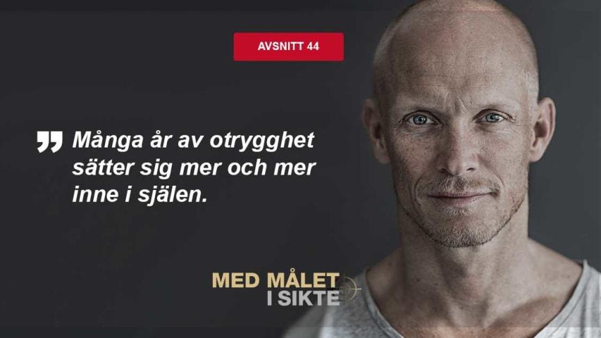 Tobias Karlsson från Let's Dance gästar Med målet i sikte.