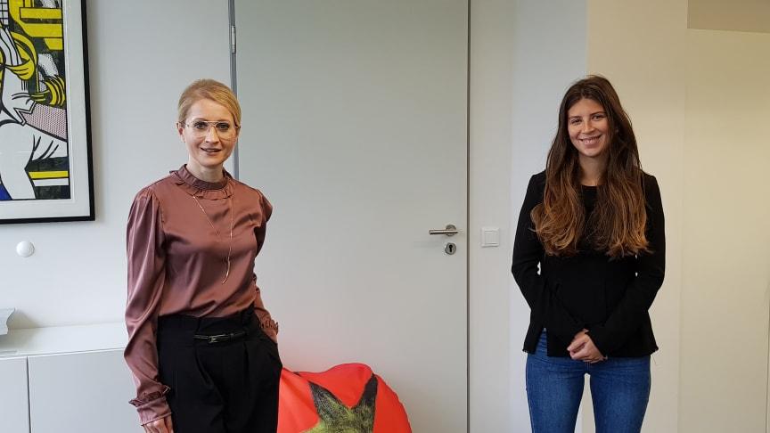 Herzlich Willkommen! - BdS begrüßt Werkstudentin Ela Mesinovic