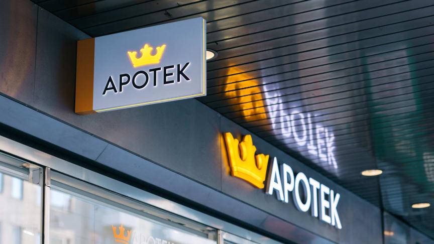 Kronans Apotek möjliggör Swish-betalning i samtliga apotek