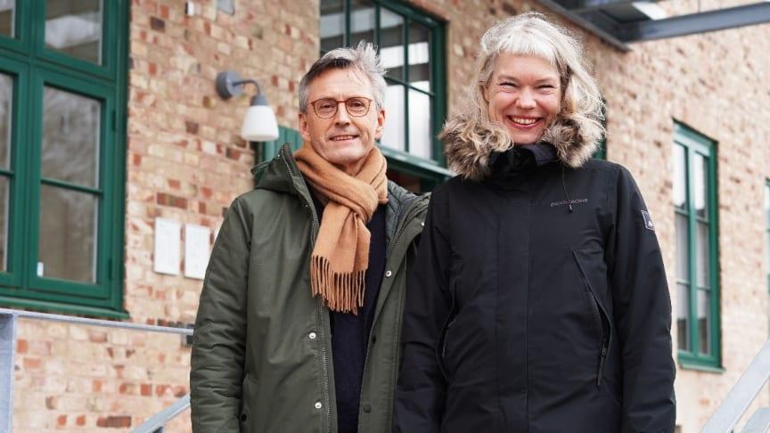 Roy Brander och Malin Scharffenberg arbetar med regionens satsning på YAM.