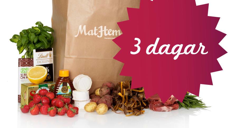MatHem presenterar stolt ett samarbete med Tina Nordström - Låt Mat-Tina ta hand om dina middagar