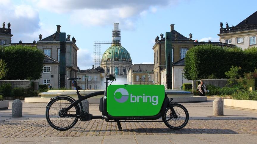 1. oktober er Bring Co2-fri i København
