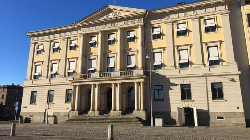 Rådhuset i Göteborg. Foto Göteborgs Stad.