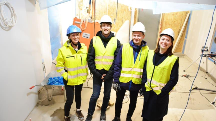 Omvisning på den fossilfrie byggeplassen på Nordseter skole