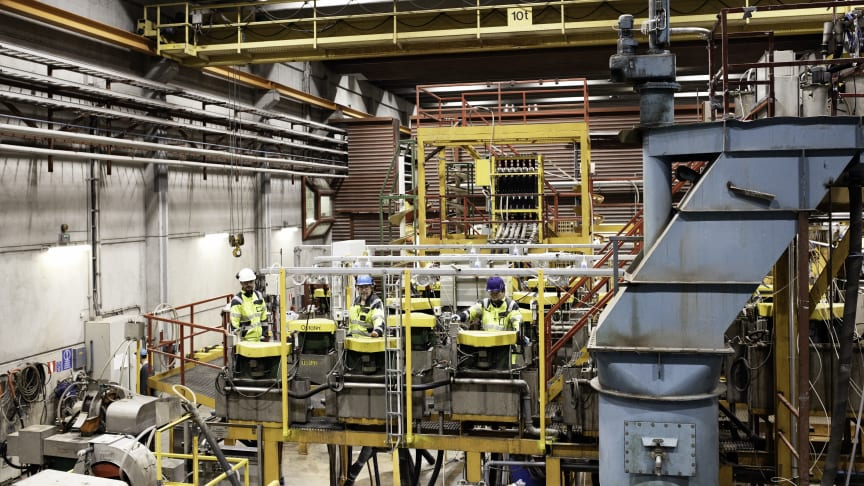 In order to boost process efficiency, GTK Mintec chose an automation technology solution provided by Schneider Electric. Photo: GTK