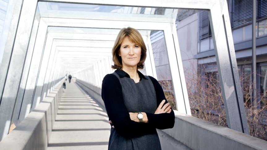 Administrerende direktør i  Entreprenørforeningen - Bygg og Anlegg (EBA), Kari Sandberg. Foto: EBA