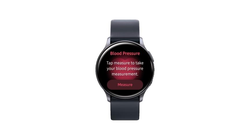 Samsung Galaxy Watch mäter blodtryck