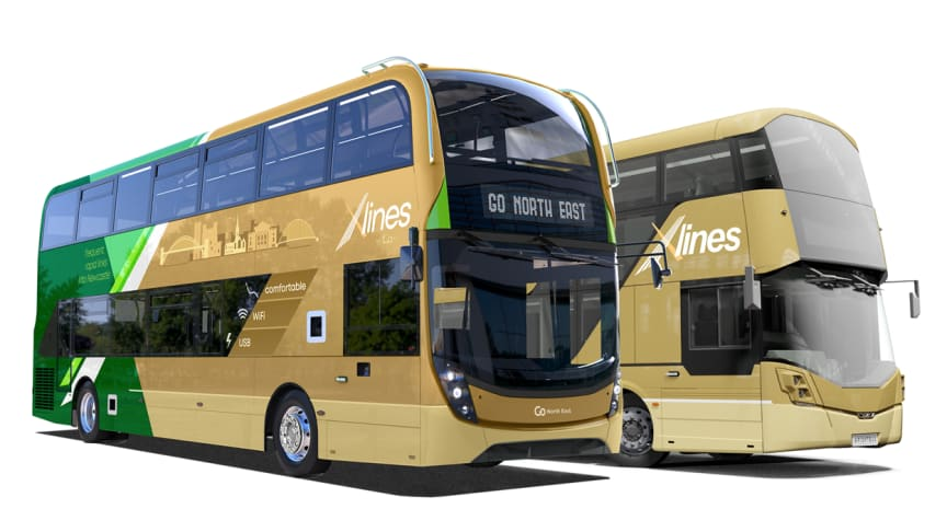 Go North East celebrates Clean Air Day with announcement of £12m investment in environmentally friendly buses to make buses even better and help tackle rising congestion
