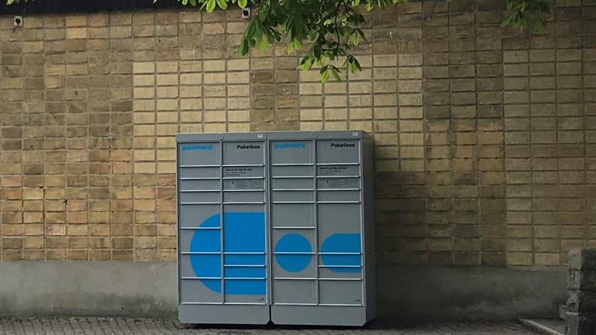 MKB Fastighets AB samarbetar med PostNord i ett pilotprojekt med paketboxar i tolv bostadsområden.